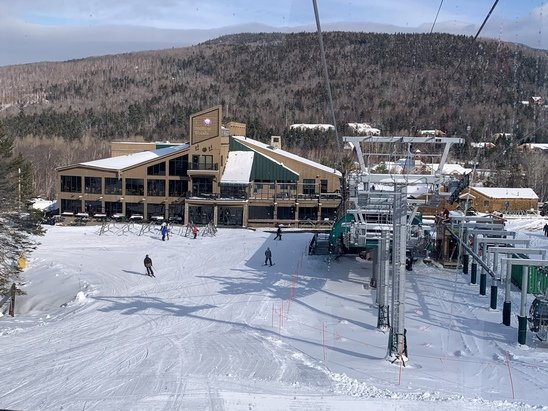 Bretton Woods - View from the new gondola. Great start to the season Bretton Woods! - © Deb Gagne