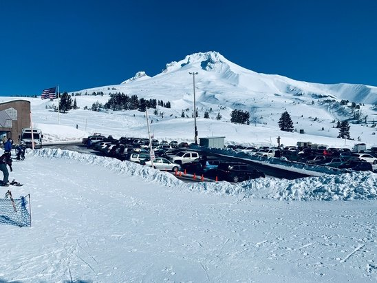 Timberline Lodge - Mt Hood - © Guest