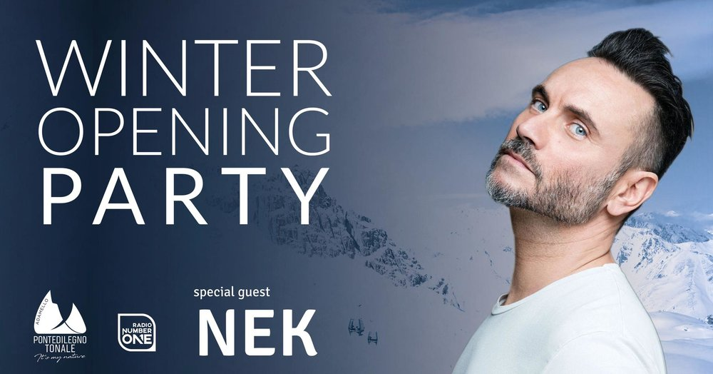 Ponte di Legno - Tonale: Winter Opening Party