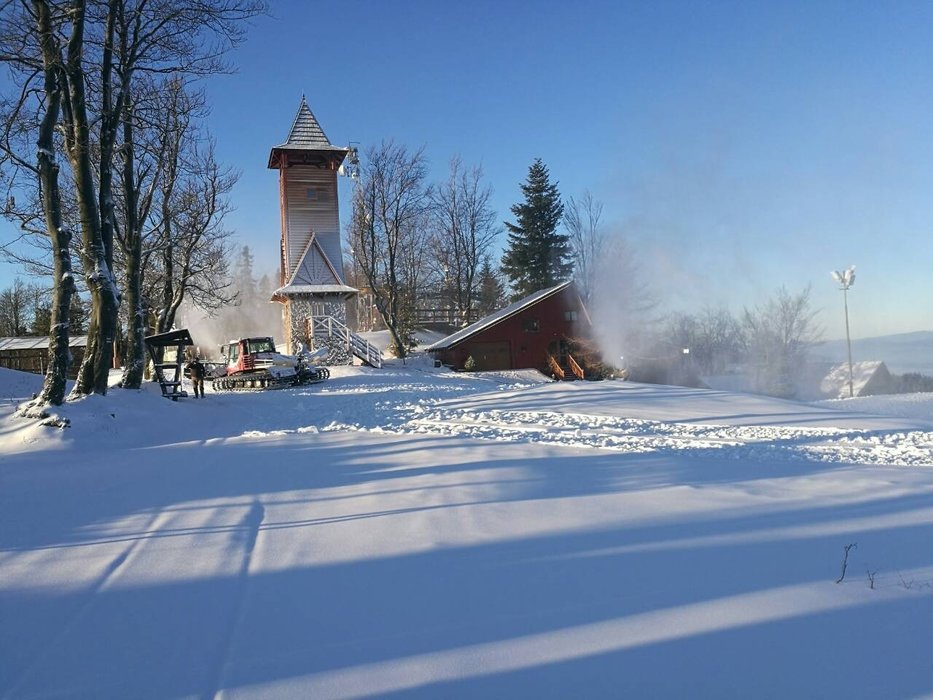 Prípravy na otvorenie lyžiarskej sezóny 2019/20 v Snowparadise Veľká Rača Oščadnica - © Snowparadise Veľká Rača Oščadnica