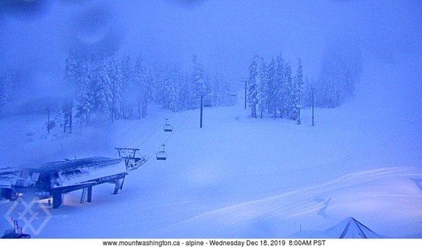 Mt Washington Alpine Resort - Almost 30cm last night! - © Shawn Scheurer