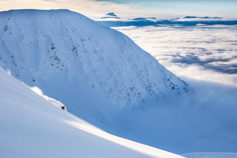 Center Ridge at Alyeska Resort - © Ralph Kristopher