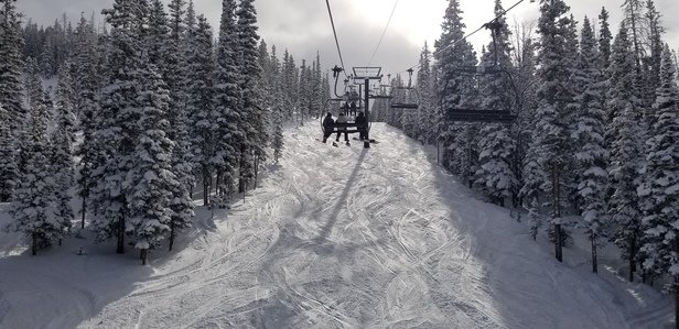 Winter Park Resort - Very cold today but awesome conditions and gorgeous weather - © DES