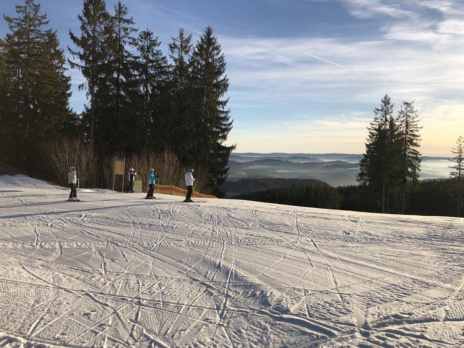 Skiareál Lipno 15.1.2020 - © facebook | Skiareál Lipno