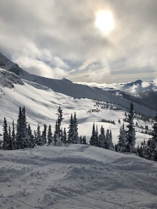 Whistler Blackcomb - Sunny day at Seven Heaven after it was closed for few days.  - © Rachel Li