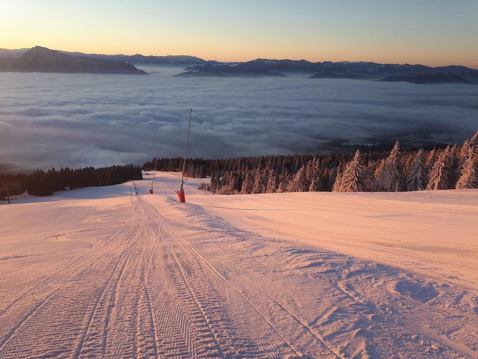 Kubínska hoľa 21.1.2020 - © facebook | Ski Park Kubínska hoľa
