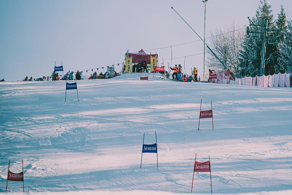 Vrátna - preteky Interski (21.1.2020) - © facebook   Vrátna