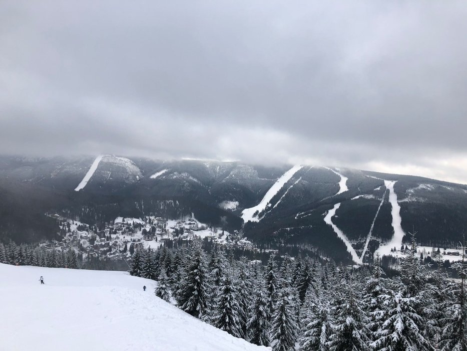 Skiareál Špindlerův Mlýn 15.2.2020 - © facebook | Skiareál Špindlerův Mlýn