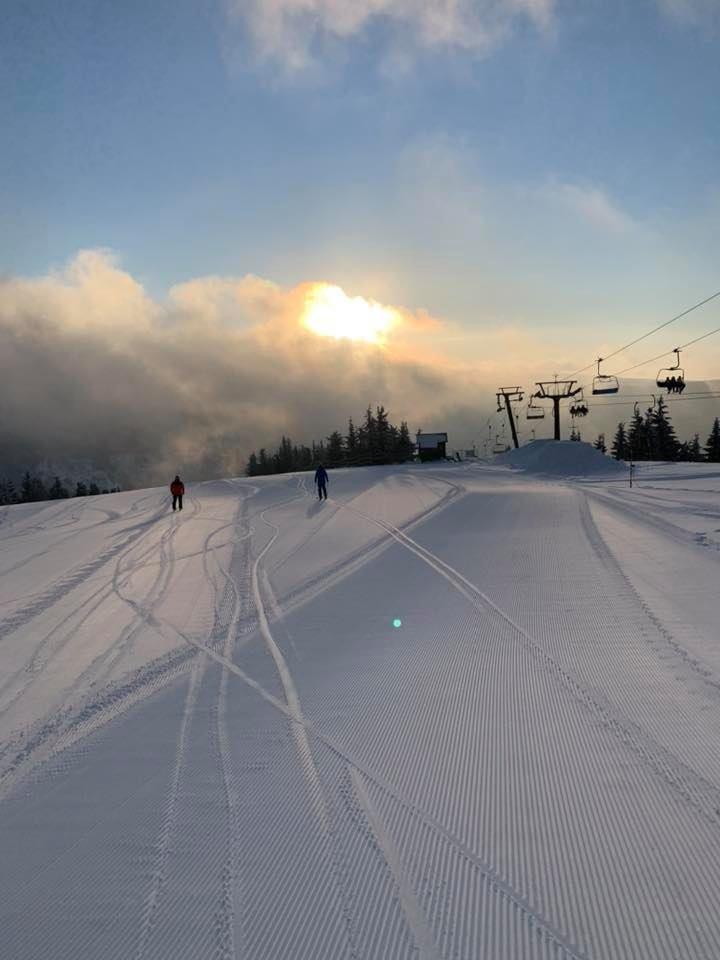 Winter is back! Špindlerův Mlýn 20.2.2020 - © facebook | Skiareál Špindlerův Mlýn