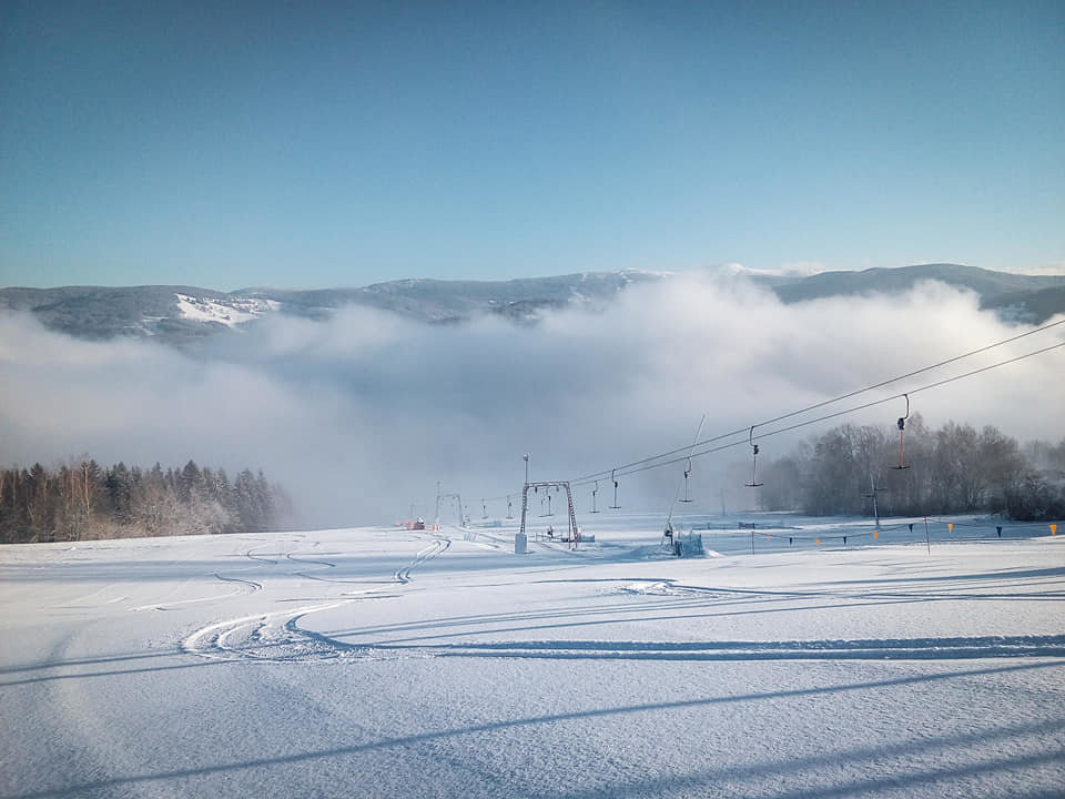 Kamenec 20.2.2020 - © facebook | Skiareál Kamenec