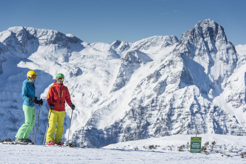 Skifahren in Hinterstoder - © OÖT_Hochhauser