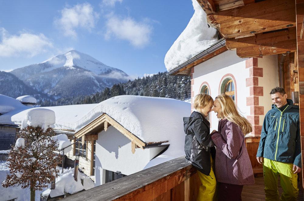 Impressionen aus dem Skigebiet Christlum - © Sporthotel Achensee