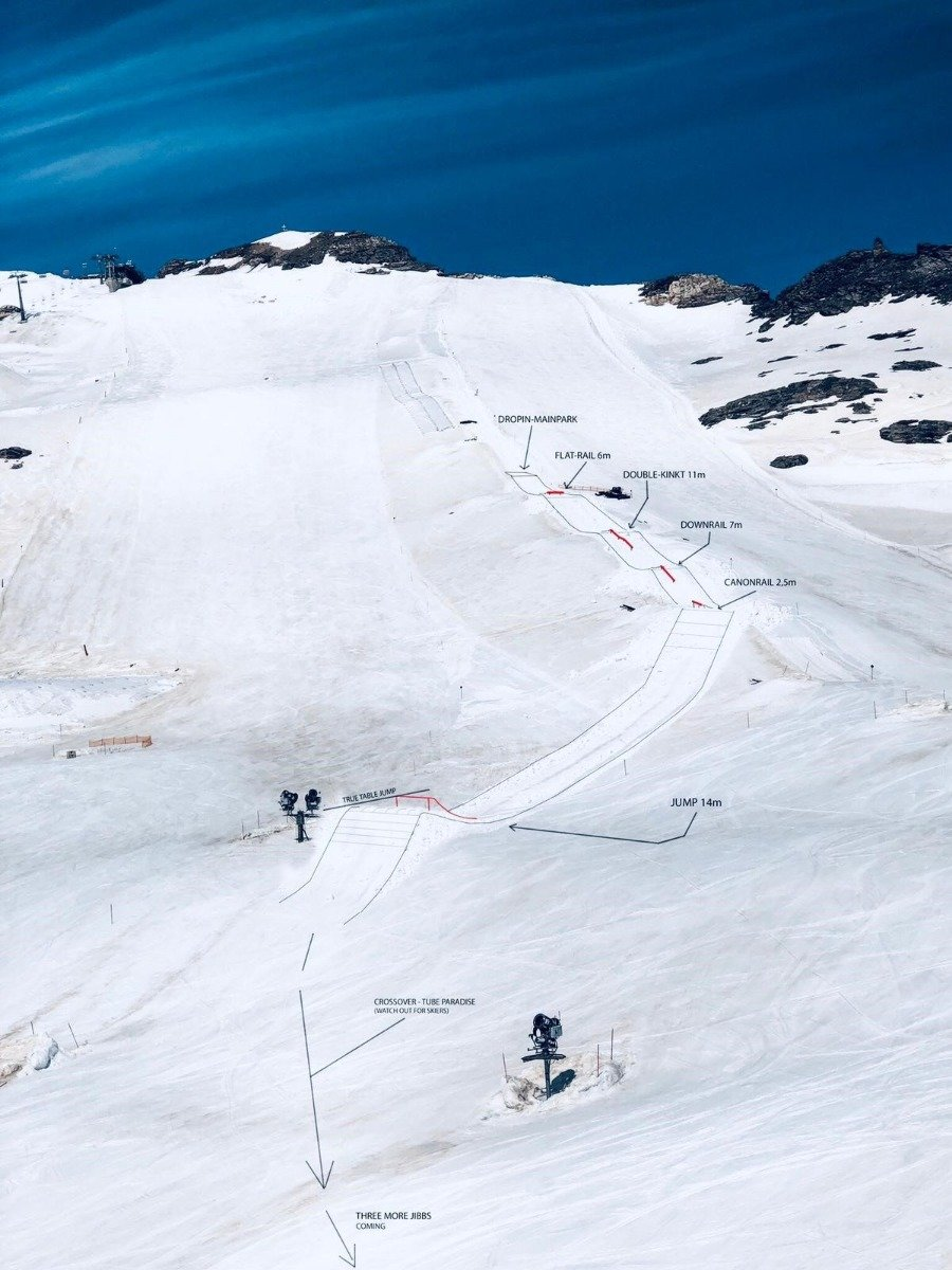 Snowpark Mölltal - © Archiv Mölltaler Gletscher