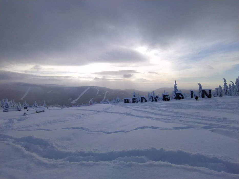 Skiareál Špindlerův Mlýn - Medvědín 16.1.2021 - © facebook | Skiareál Špindlerův Mlýn