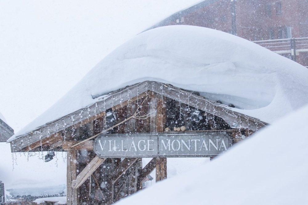 Viel Schnee liegt aktuell in Val Thorens (FRA)  - © Val Thorens/Facebook