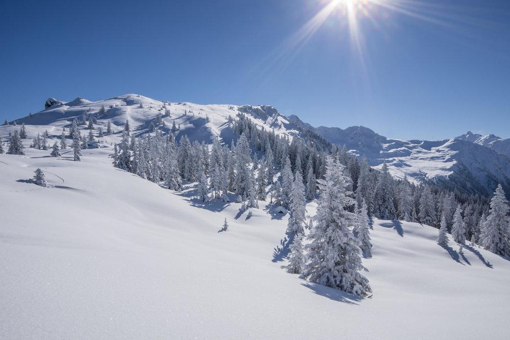 Insbesondere am Freitag und Samstag dürfte es in den Alpen schön sonnig werden - © Johannes Netzer (Fotolia.com)