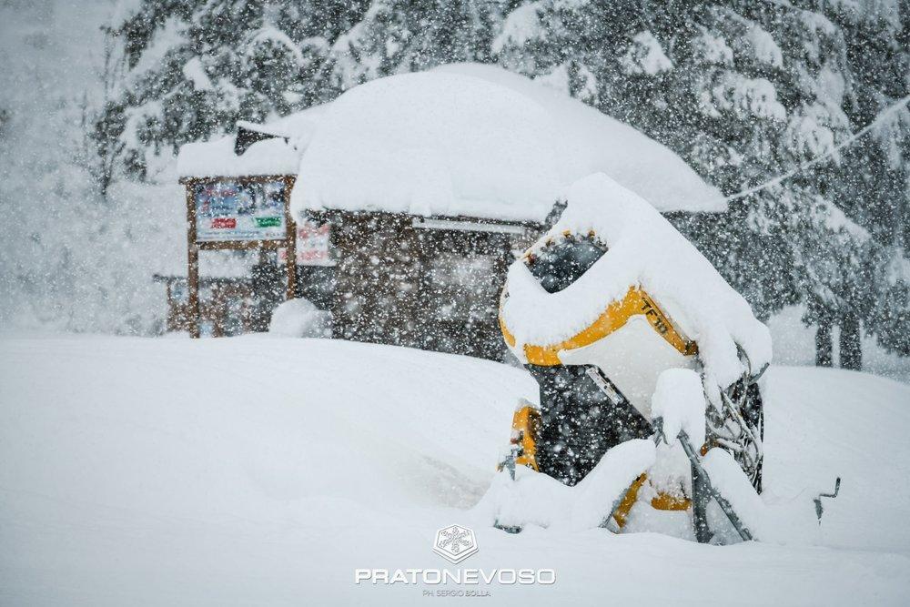 Prato Nevoso (24.11.2019) - © Prato Nevoso Ski Facebook