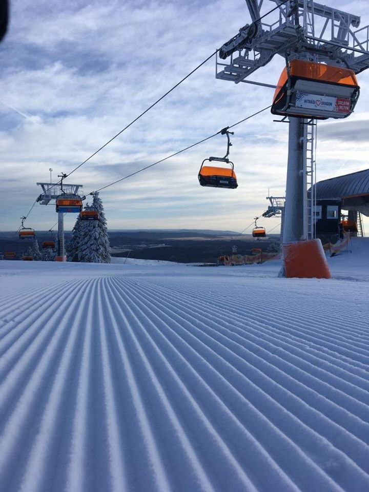 Skiareál Klínovec 22.2.2020 - © facebook | Skiareál Klínovec