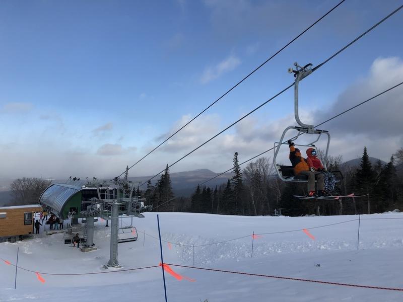 Skiers celebrate Saddleback's comeback