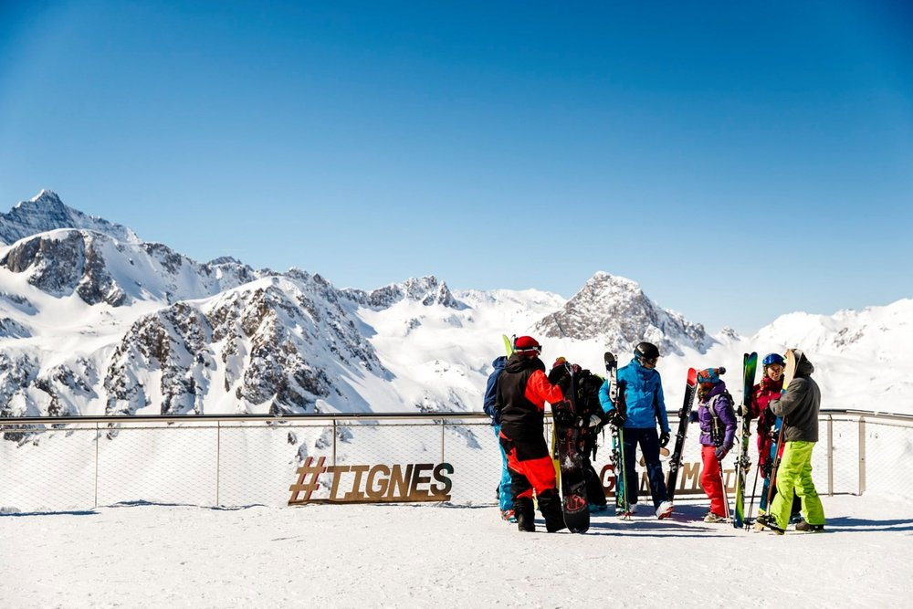 Slnko a čerstvý sneh - Tignes - © Tignes/Facebook