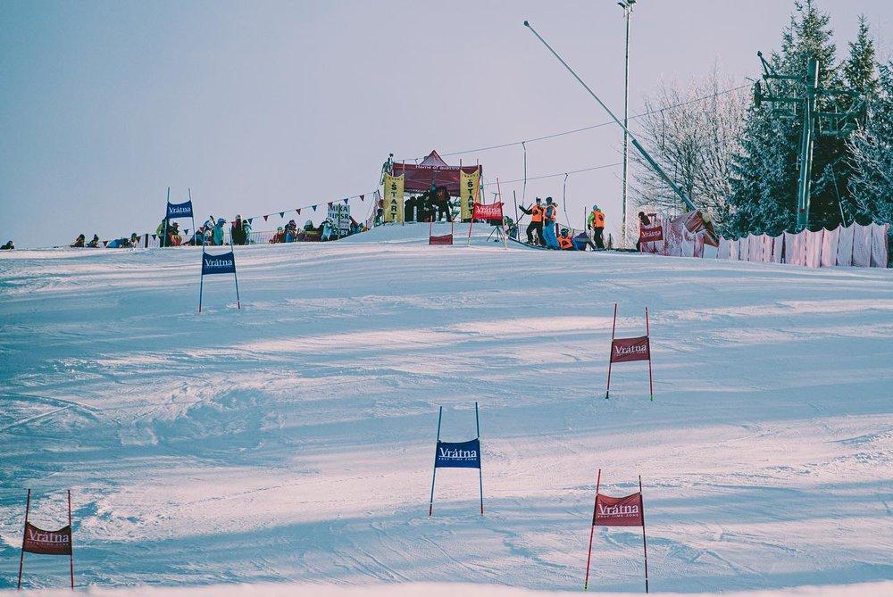 Vrátná - závody Interski (21.1.2020) - © facebook | Vrátna