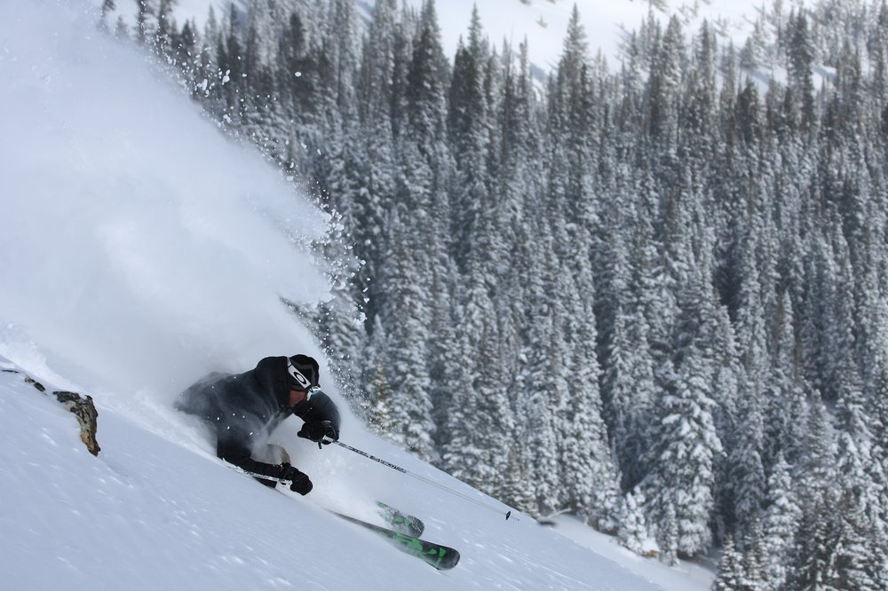 Powder skiing at Breckenridge - © Liam Doran