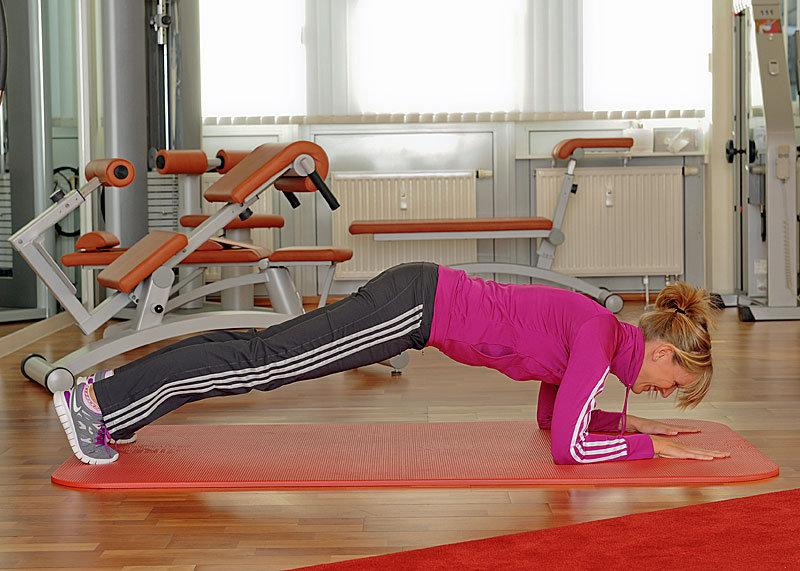 Cvik šiesty: Brušní svaly