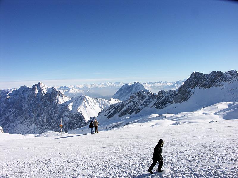 Auf der Zugspitze - © Mike Schneider