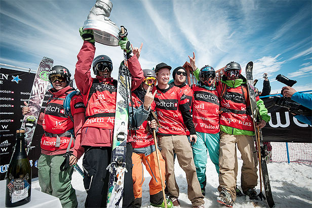Team Americas Wins 2012 Swatch Skiers Cup - © Swatch Skiers Cup