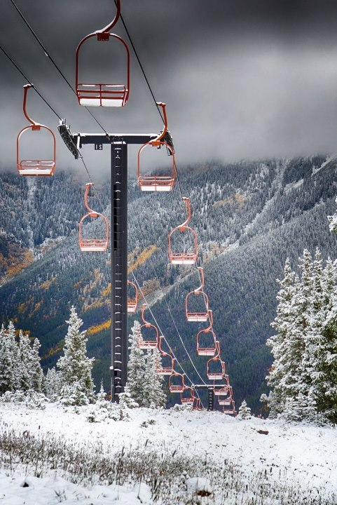 Copper Mountain Snowfall - © Tripp Fay