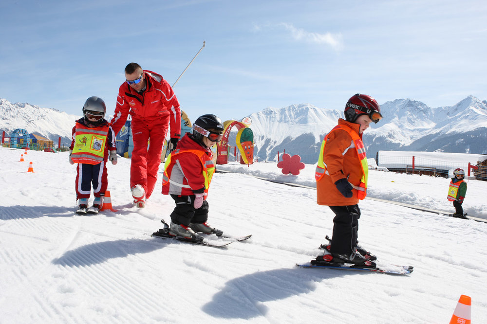 Kids' lessons in Serfaus - ©  Serfaus-Fiss-Ladis / Tirol | sflw68 | Kinderskikurs | Fotoquelle www.skischule-fiss-ladis.at