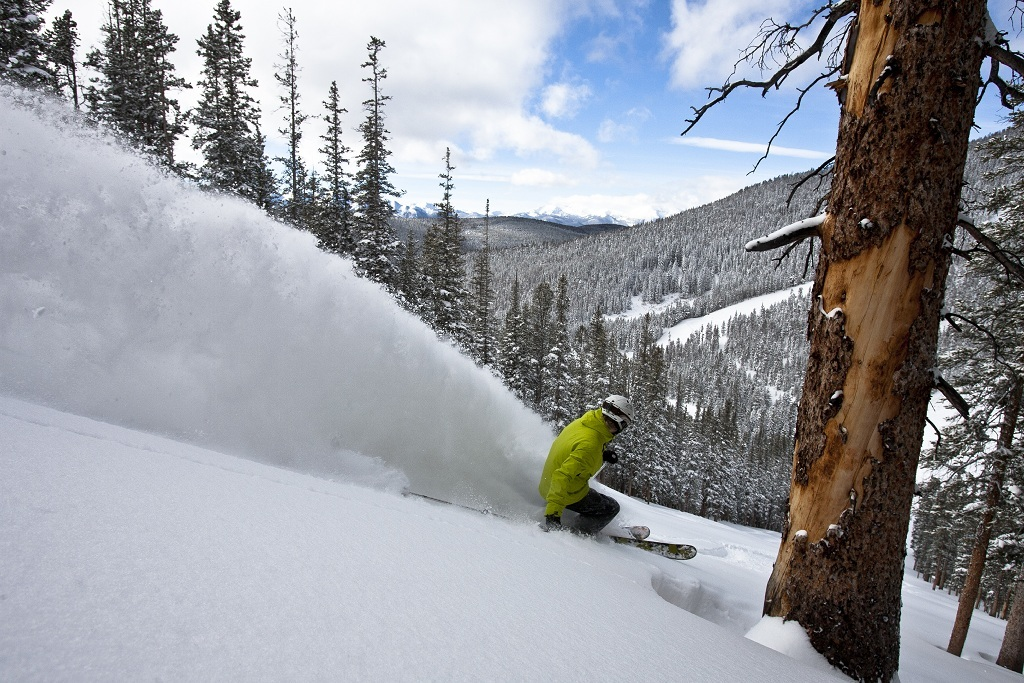 Christmas powder at Keystone - © Liam Doran