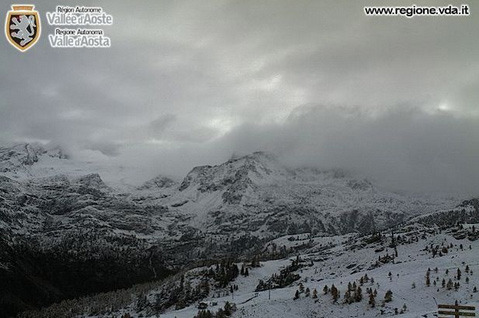 La Thuile - Neve 15 Ottobre