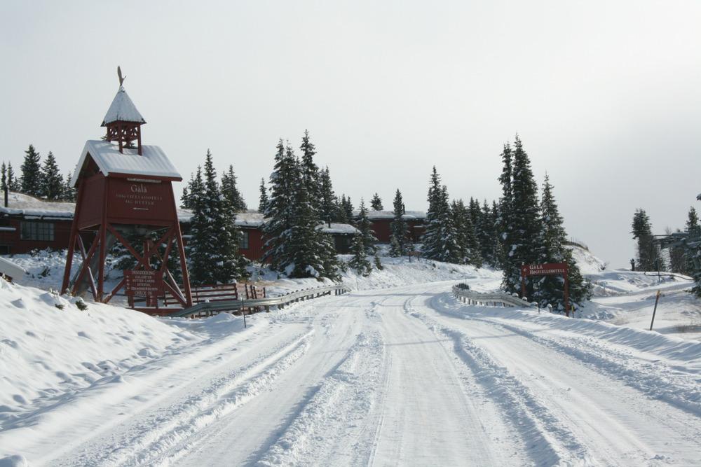 Gålå 17. oct 2012 - © Gålå Skiarena