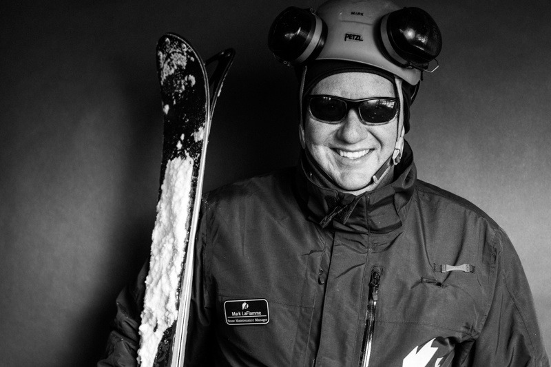 Mark Laflamme ~ Director of Snowfall / Arapahoe Basin Opening Day 2012 - © Liam Doran