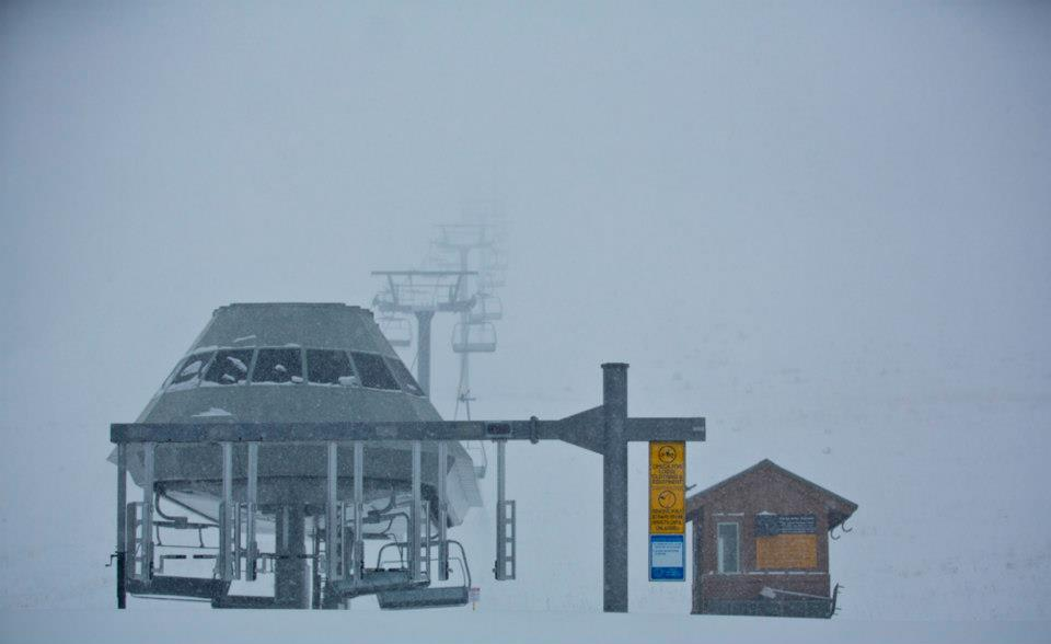 Snowing in Mammoth. Photo: Mammoth Mountain/Facebook