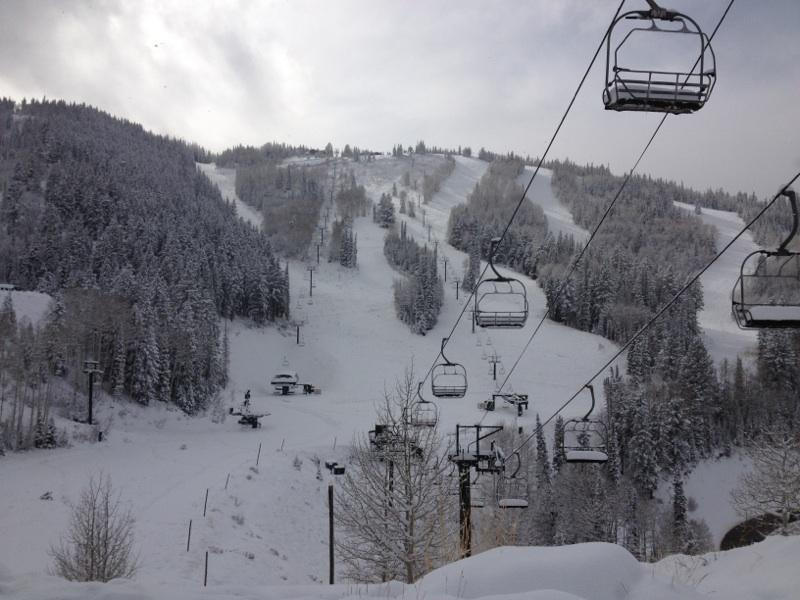 Looking good at Deer Valley following Winter Storm Brutus. Photo:Deer Valley/Facebook