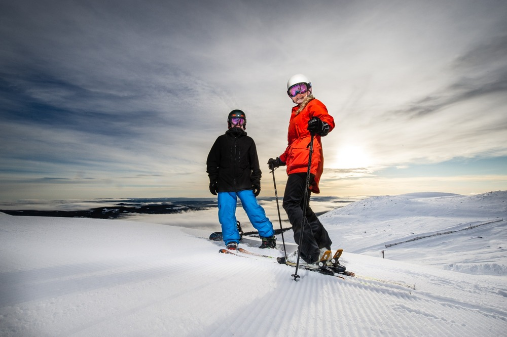 Top of Hesten, Trysil - ©Ola Matsson