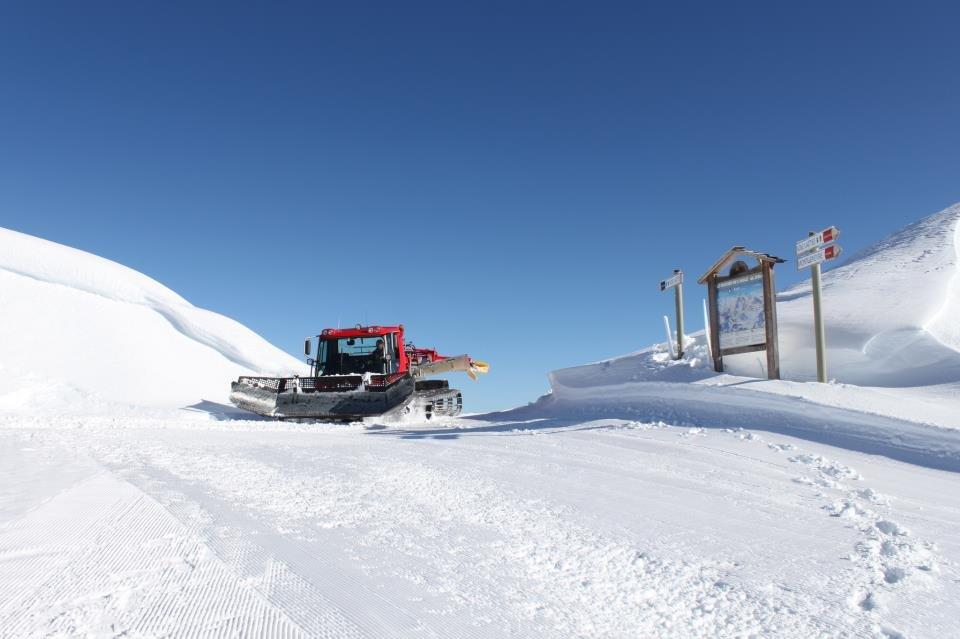 After the big early November snowfalls, Montgenevre has a great base. Photo taken Nov. 15, 2012 - © Montgenevre