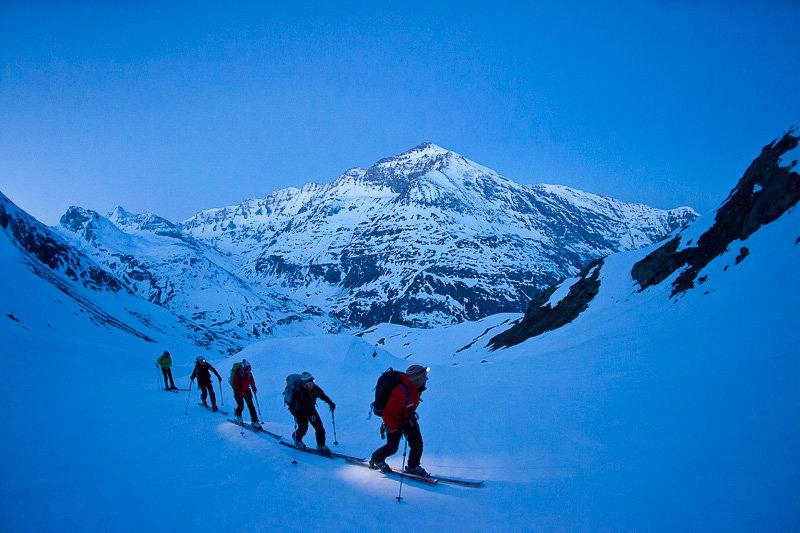 Aufstieg vom Refuge d'Avérole zum Albaron, Vallon d'Avérole, im Hintergrund Pointe de Charbonnel, Haute Maurienne - © Iris Kürschner