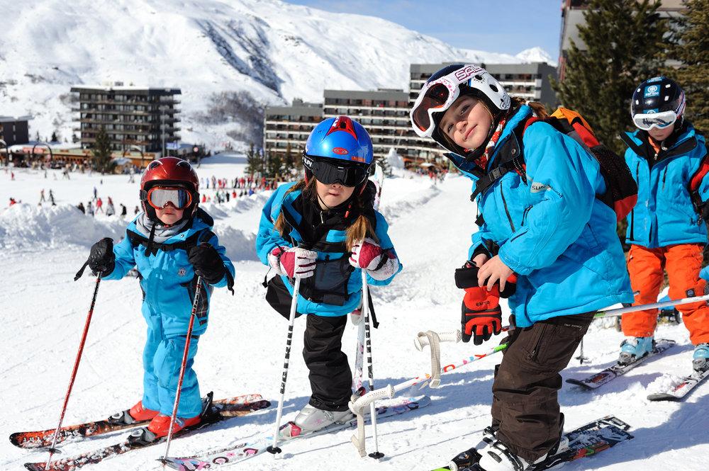 Kids' ski club, Les Menuires - © David Andre/Les Menuires