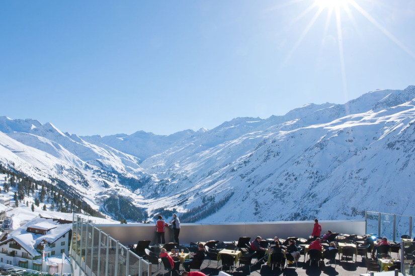 Sun terrace of Hotel Rimml, Hochgurgl - © Hotel Rimml