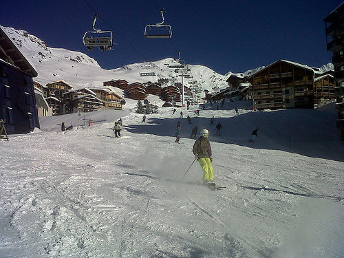 Plenty of ski-in/ski-out accommodation in Val Thorens, France - © Val Thorens Tourism