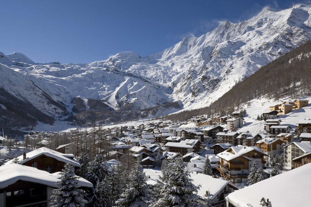 Traditional Swiss village of Saas Fee - © Saas-Fee Tourism