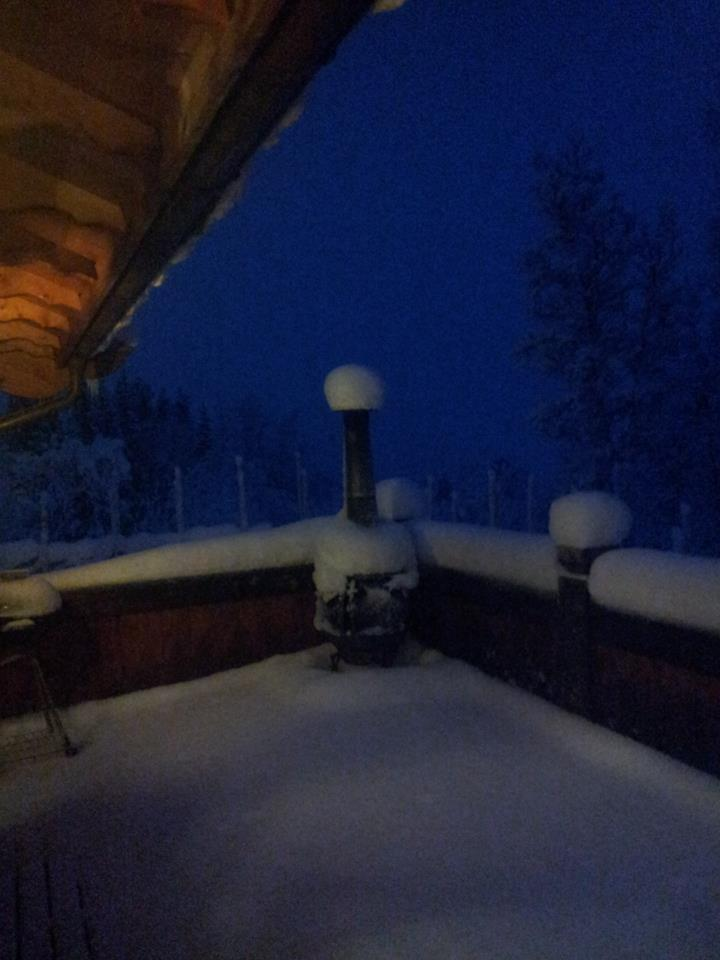 Sesongens første pudderalarm på Gålå 25.12.2012 - © Gålå