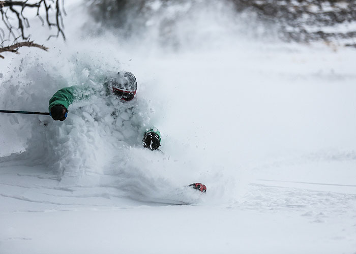 A powder day in Big Sky will cure what ails you. - © Charlie Bolte