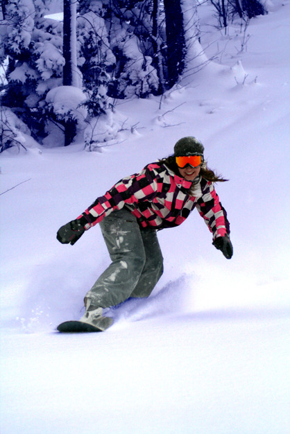 Snowboarding at Indianhead Mountain. - © Indianhead Mountain