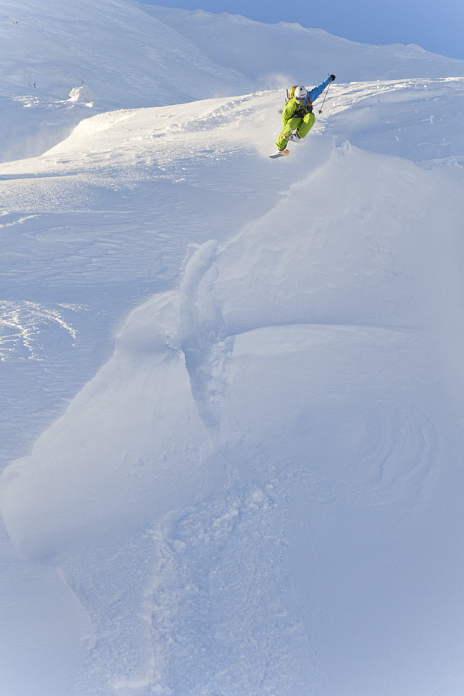 Powder in Hemsedal, Norway. Dec. 20, 2012 - © Kalle Hägglund
