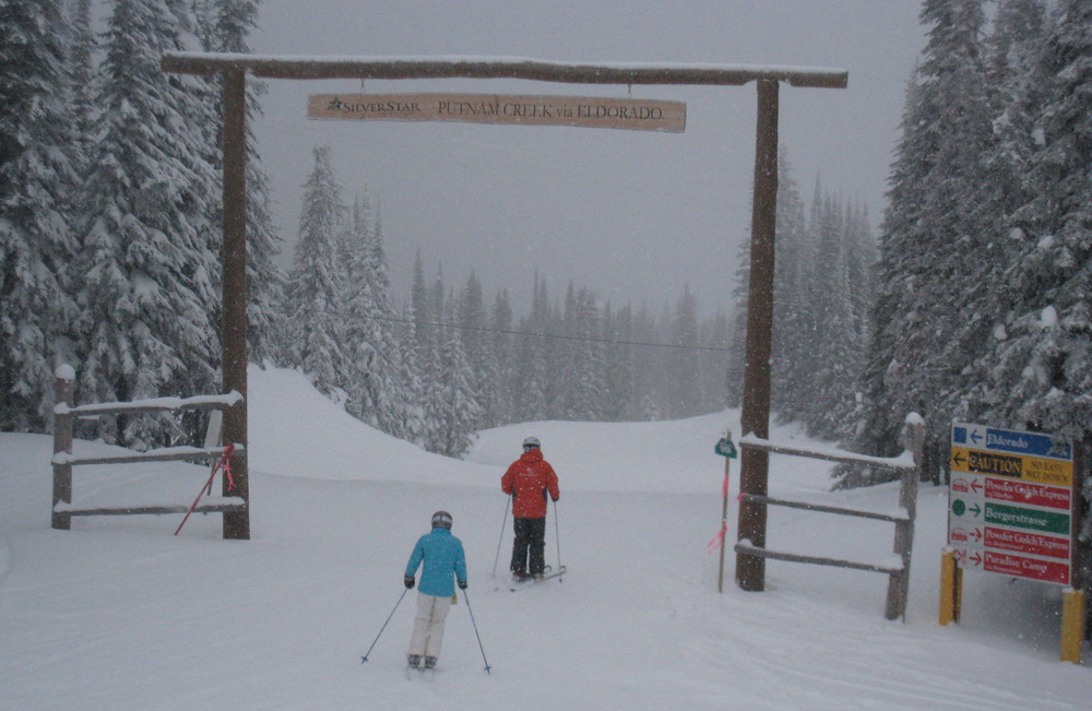 Entering Putnam Creek area at Silver Star. Photo by Becky Lomax. - © Becky Lomax