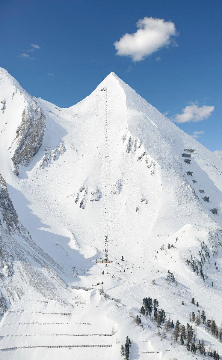 Die Gamsleiten 2 fordert das ganze Können der Skifahrer. - © Obertauern Tourismus